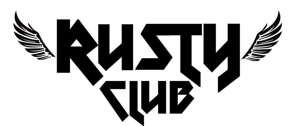Rusty club logo negro
